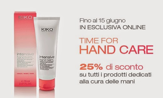 "KIKO - Promo ""Time for Hand Care"""