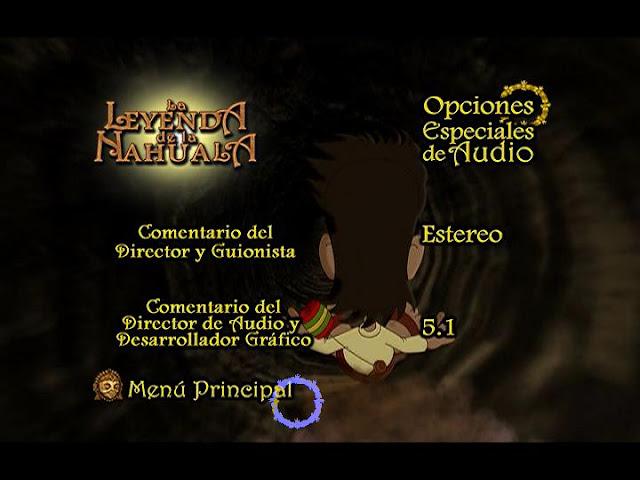 La Leyenda de la Nahuala DVD Full Audio Español Latino Descargar 2007