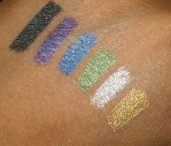 Essence Metallic Eye Pencil Swatches