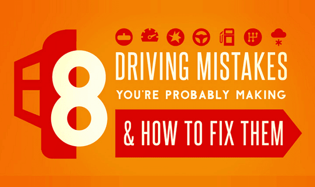 8 Driving Mistakes You Didn't Know You Were Making