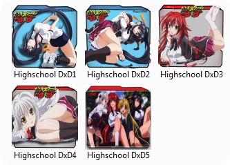 Highschool DxD Folder Pack Icon
