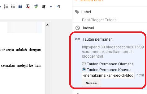 4 cara mudah memaksimalkan seo di blogger