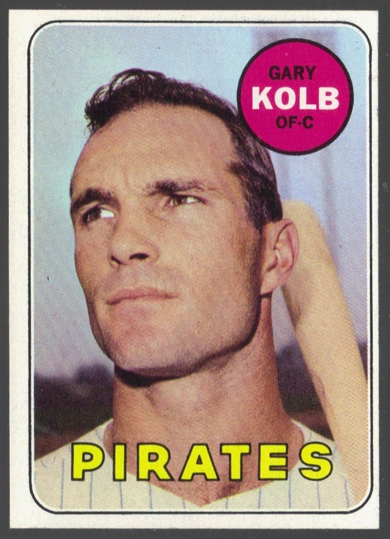 Gary Kolb 1969 baseball card