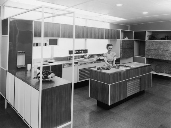 Your Home is Lovely: interiors on a budget: The house the 50s built