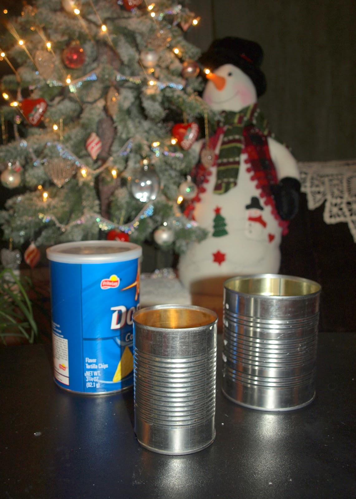 Christmas Gift Tins Empty
