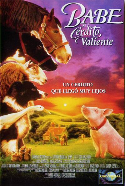 Babe el cerdito valiente (1995)