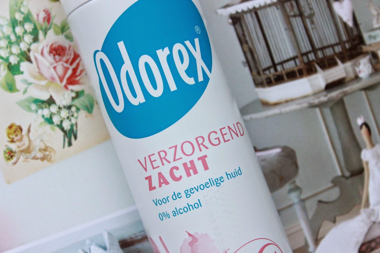 review ervaring odorex deodorant verzorgend zacht marine fris