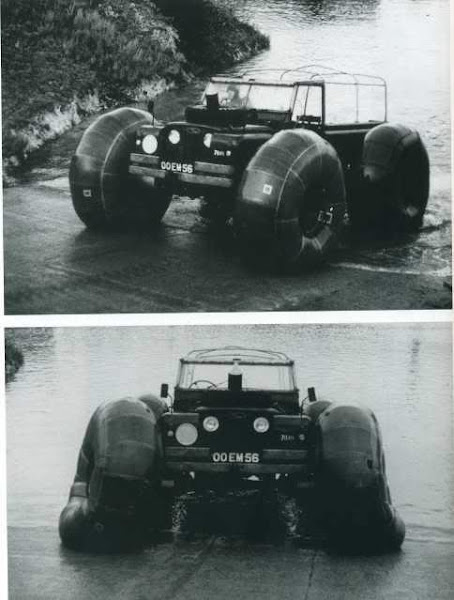 Land Rover anfíbio