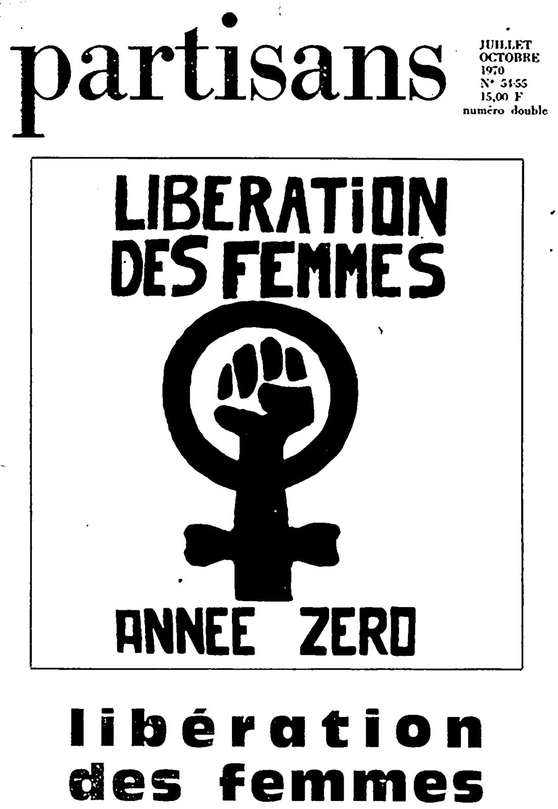 Image result for partisans libération des femmes année zéro
