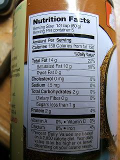 Calories in light coconut milk