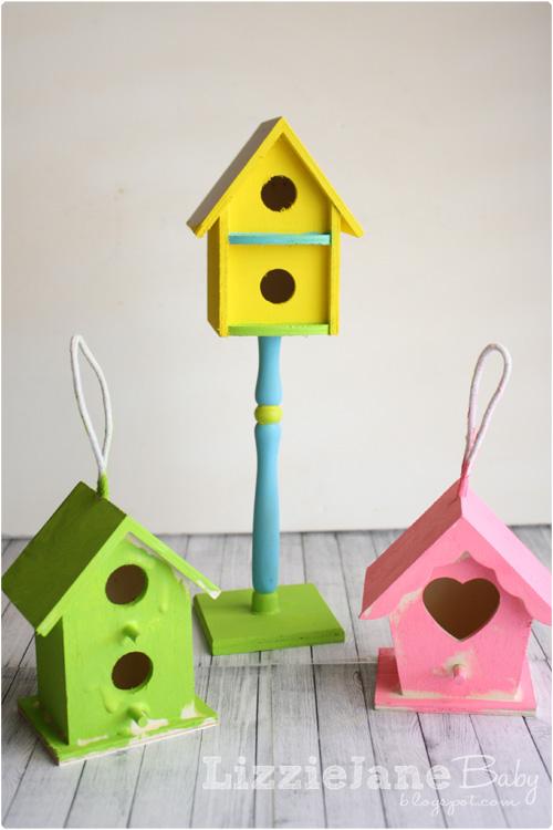 Spring Time Bird Houses Liz On Call