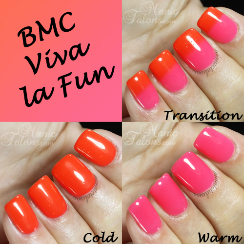 BMC Viva la Fun Swatches