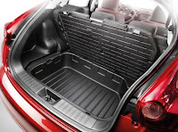 Juke car accessories - trunk