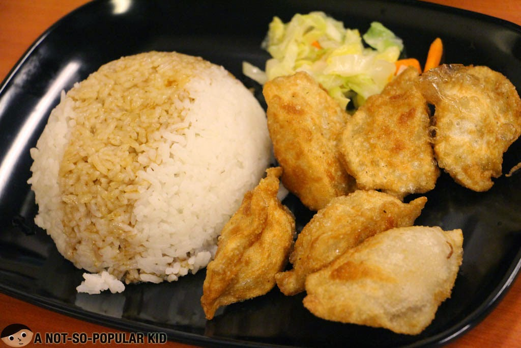 The famous fried dumplings of Tasty Dumplings with Rice