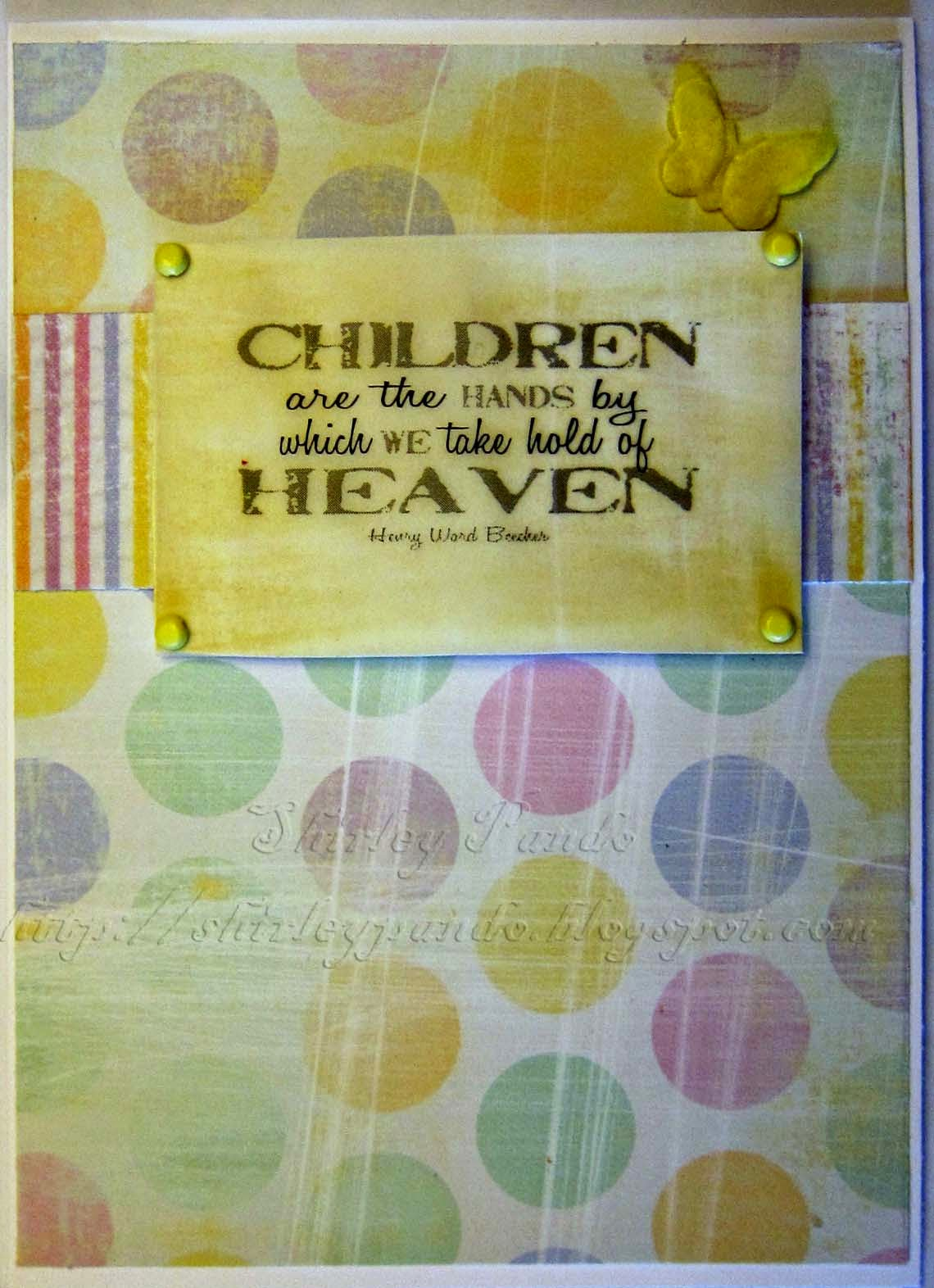 Children...Heaven card