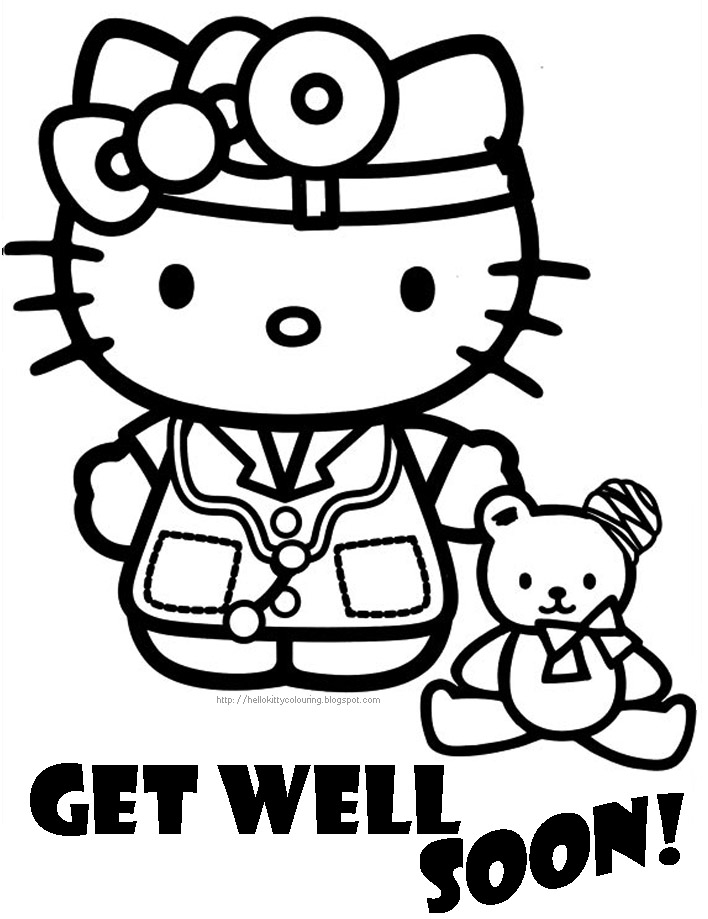 get well coloring pages - Etame.mibawa.co