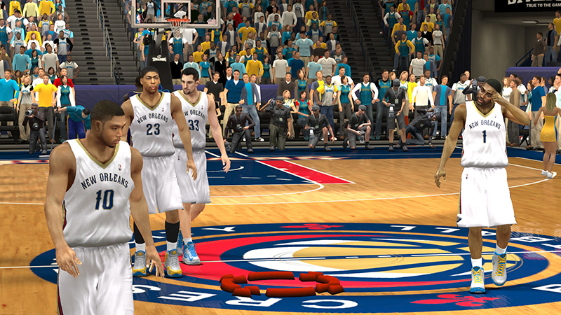 NBA 2k13 New Orleans Pelicans Official Jersey Patch