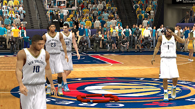 NBA 2K13 New Orleans Pelicans Home Jersey Patch