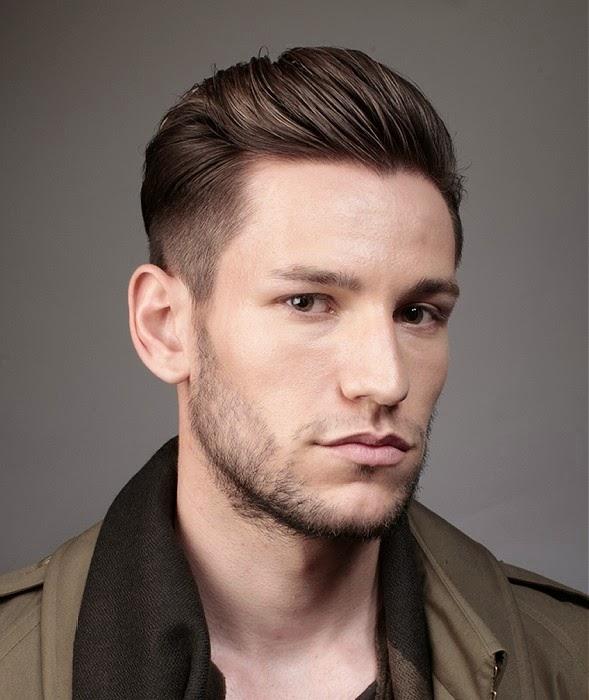 peinado hacia atras con copete desvanecido YouTube - Peinados Para Atras Hombres