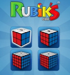 Rubik's Cube BlackBerry game available for download