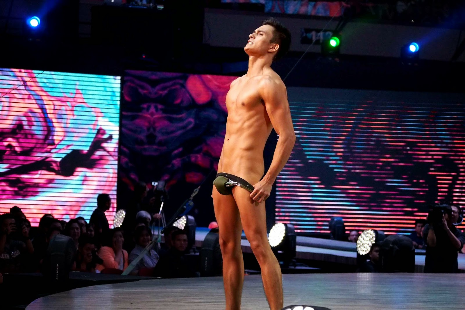 Cached Bench male underwear fashion show video