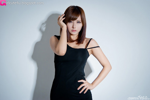 Ryu-Ji-Hye-Black-Dress-02-very cute asian girl-girlcute4u.blogspot.com