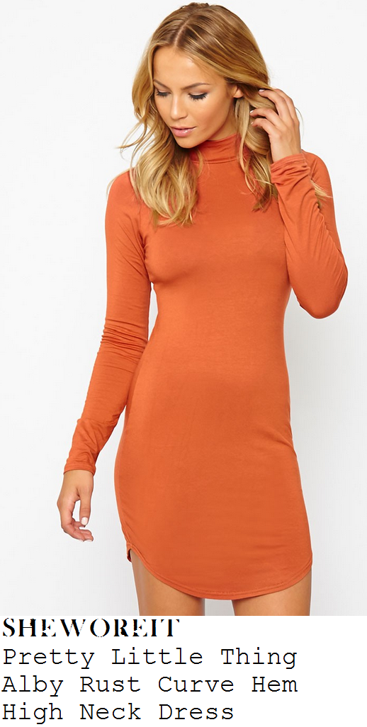 georgia-kousoulou-orange-curve-hem-mini-dress