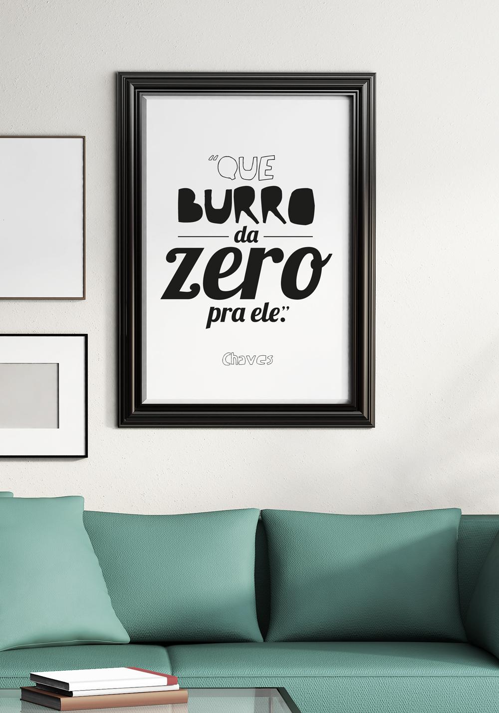 Top Madrugadas com Design: Curiosidades - Cartazes com frases do CHAVES ZU77