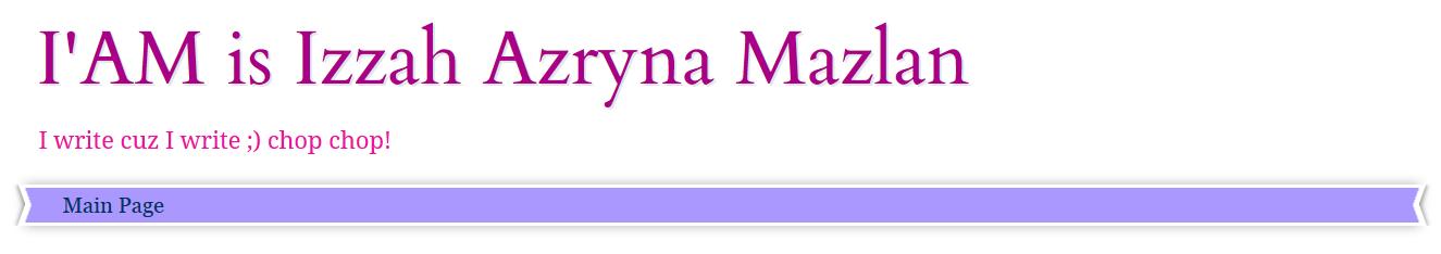 http://izzahazryna.blogspot.com