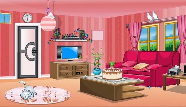 Pink Foyer Room Escape : Solved lovely pink room escape walkthrough