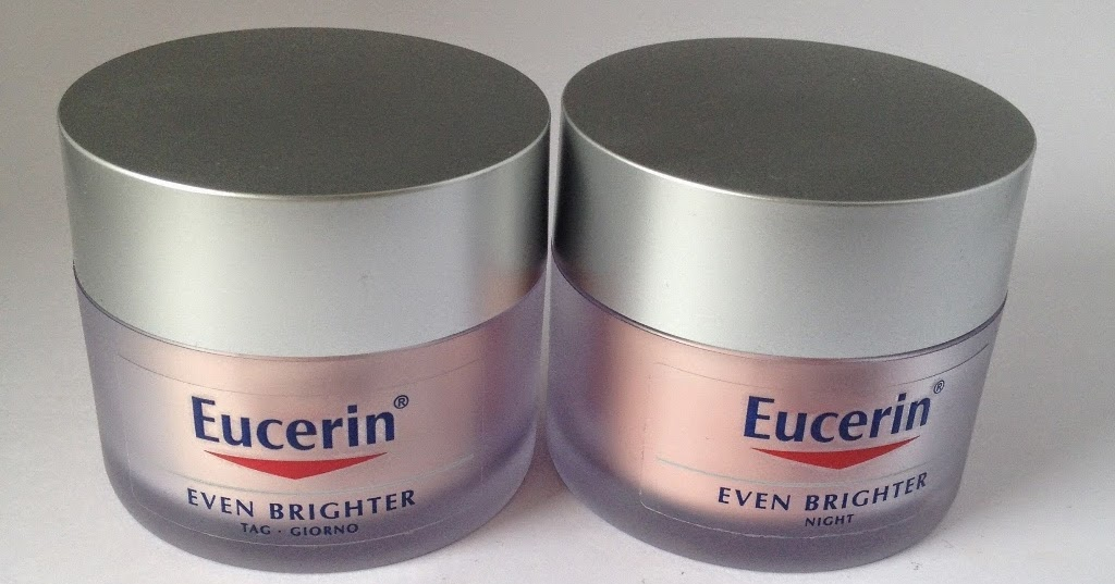 beautyswot eucerin even brighter day cream night cream. Black Bedroom Furniture Sets. Home Design Ideas