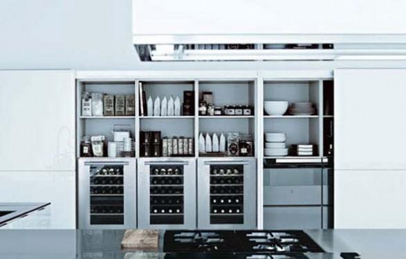 C mo dise ar una cocina moderna de poliform por matrix for Como disenar una cocina moderna