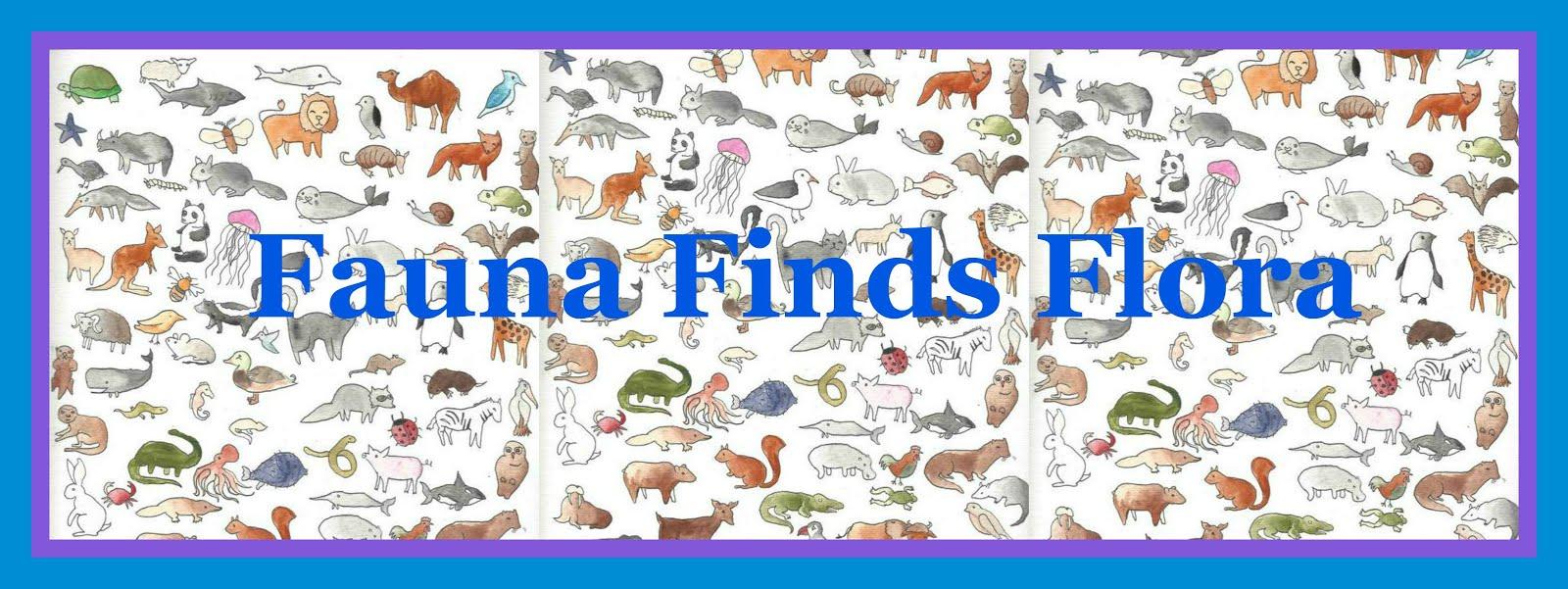 Fauna Finds Flora