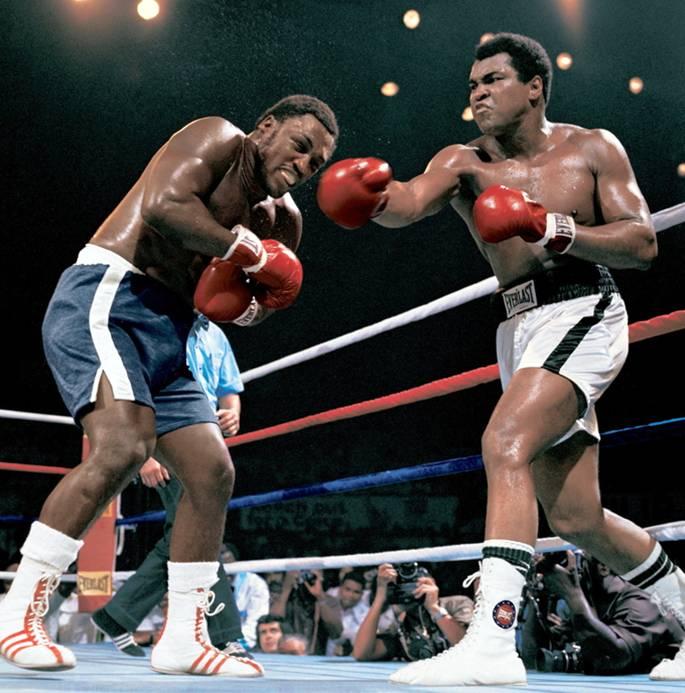 Muhammad Ali vs. Joe Frazier, 1975