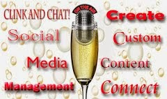 Clink And Chat: Social Media Management-Creating Custom Content to Connect You!