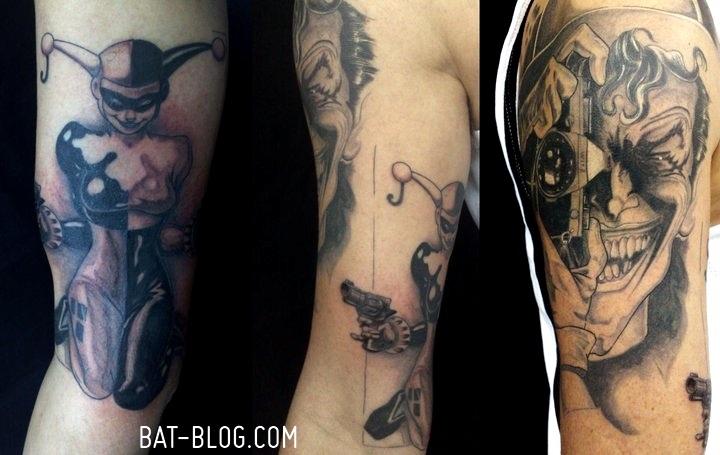 Joker and Harley Quinn Tattoos
