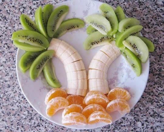 Arte Comida Frutas