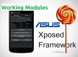 List of working Xposed modules for Asus Zenfone Lollipop
