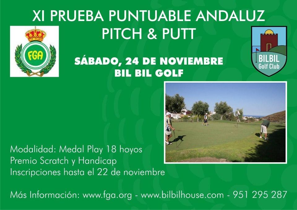 Prueba Ranking Andaluz Pitch & Putt 2012