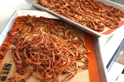 Dehydrated Cinnamon Spice Apple Peels recipe by Barefeet In The Kitchen