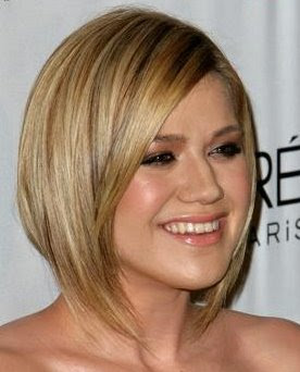 16 PM Unknown Label: short hairstyles for round faces