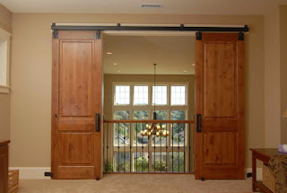Picture of Modern  home barn doors