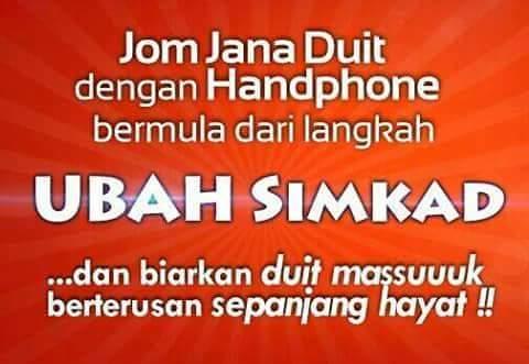 Buat Duit Dengan Handphone
