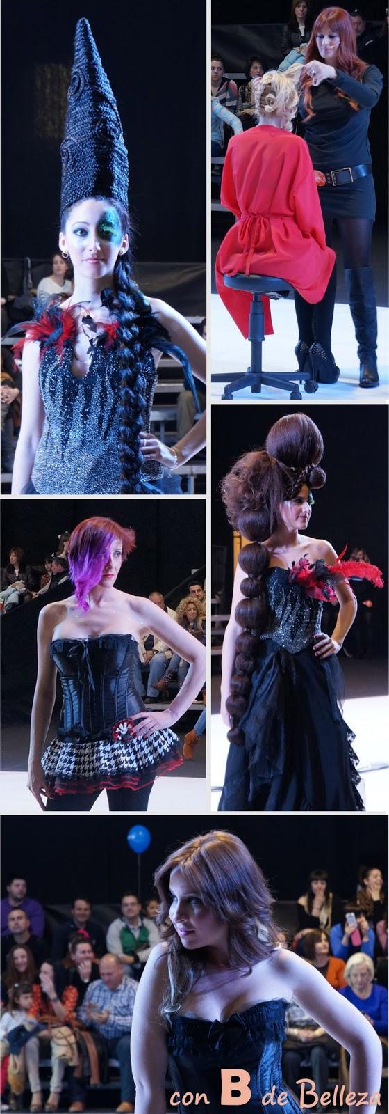 Peinados con postizos