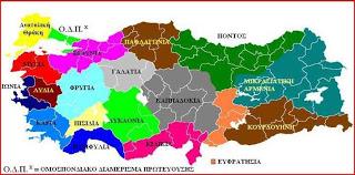 Χάρτης Τουρκία