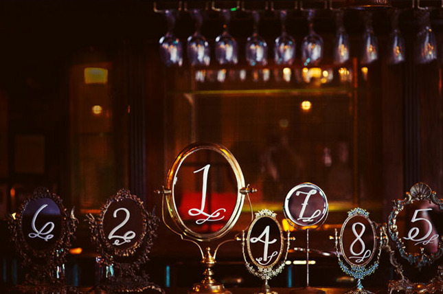 Wonderful Wedding Table Numbers with Mirrors 645 x 428 · 192 kB · jpeg