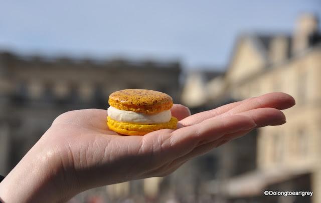 Creme Brulee Macaron, Bordeaux, France