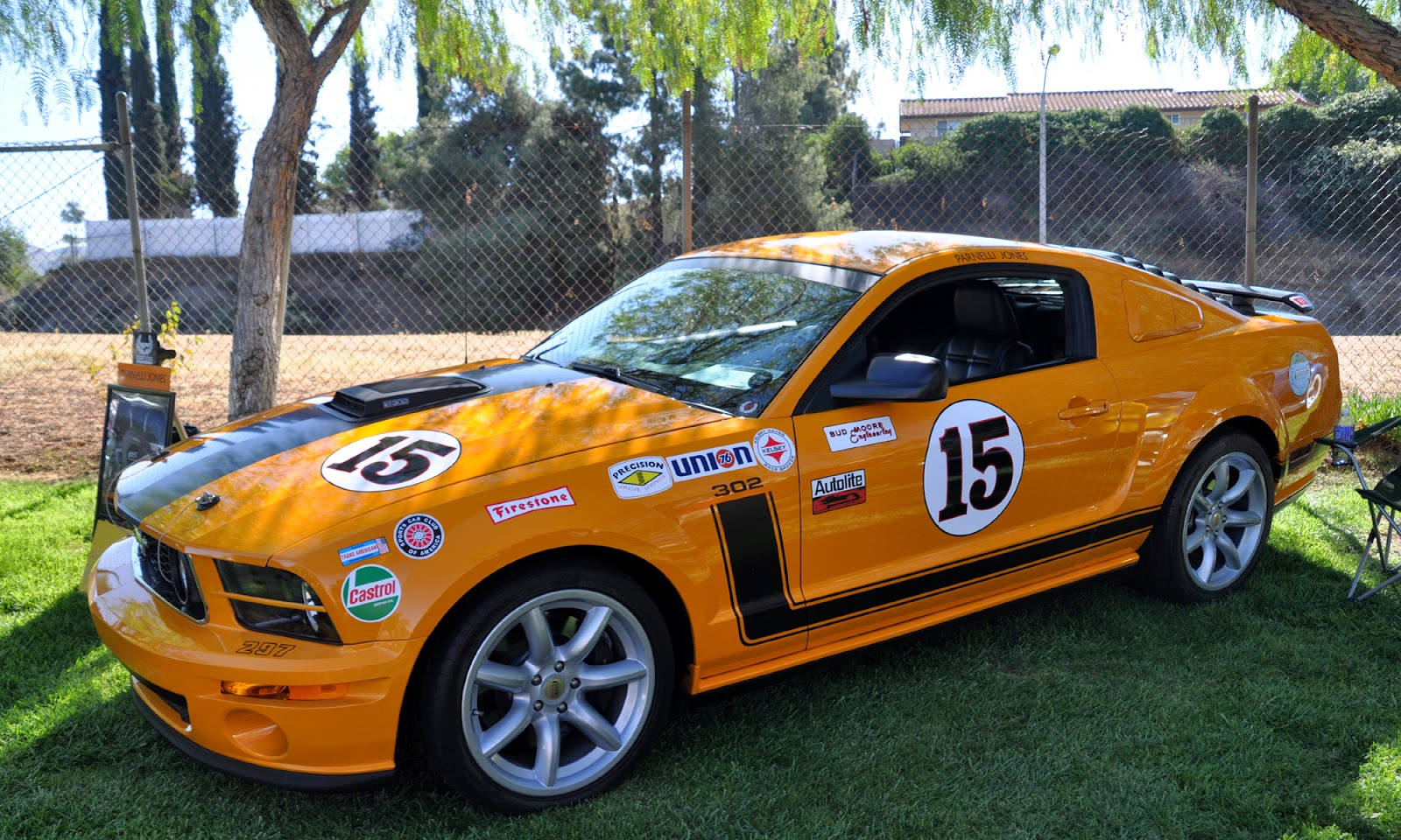 Just a car guy a parnelli jones edition mustang