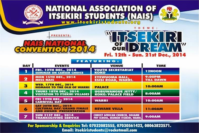 Itsekiri Of Our Dream
