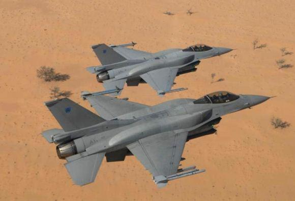 F-16C Oman
